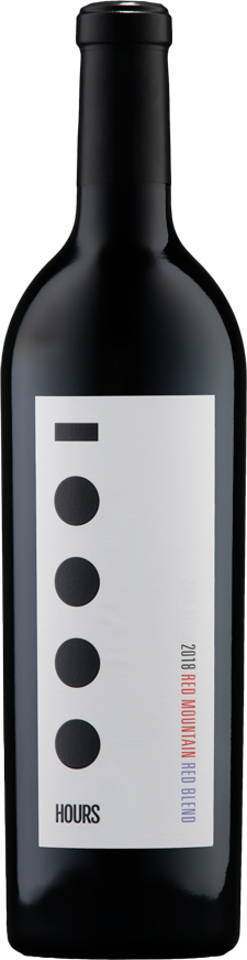 10000 Hours 2018 Red Blend Wine - Red Mountain Wine - Aquilini Family Wines